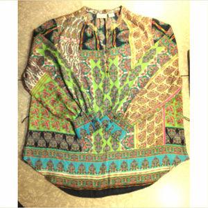 Vibrant Multicolored Boho Tunic